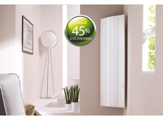 radiateur galapagos vertical 1500w. Black Bedroom Furniture Sets. Home Design Ideas