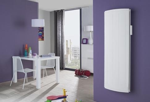radiateur nirvana vertical 1500w. Black Bedroom Furniture Sets. Home Design Ideas