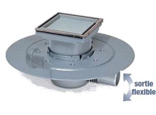 Siphon carreler 110 110 k3 for Syphon de sol exterieur