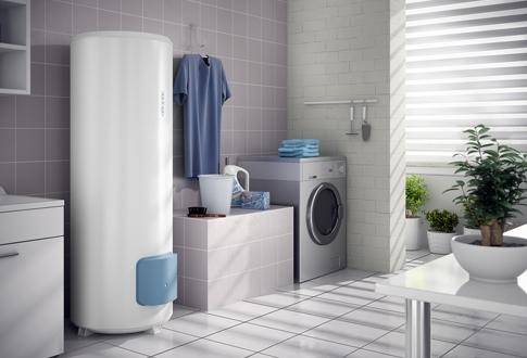 chauffe eau lectrique zeneo vertical sur socle 200l. Black Bedroom Furniture Sets. Home Design Ideas