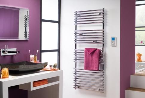radiateur s che serviette timelis chrome 500. Black Bedroom Furniture Sets. Home Design Ideas