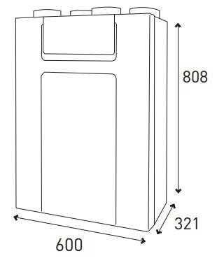 vmc double flux domeo 210 fl. Black Bedroom Furniture Sets. Home Design Ideas
