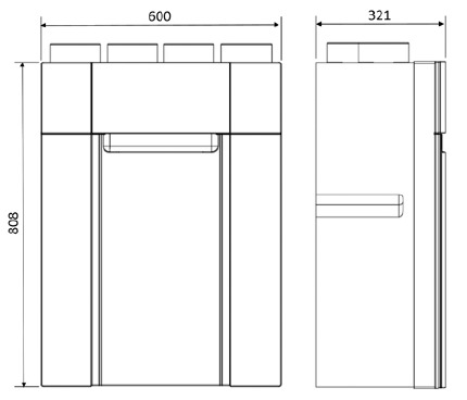 vmc double flux domeo 210 app. Black Bedroom Furniture Sets. Home Design Ideas