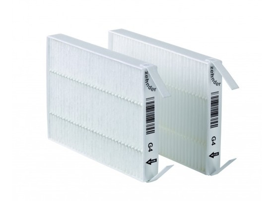 Jeu de 2 filtres g4 pour vmc double flux zehnder comfospot50 for Vmc double flux zehnder